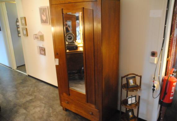 Eiken Art Deco Kast Frank Gerritse Antiek Sfeervolle