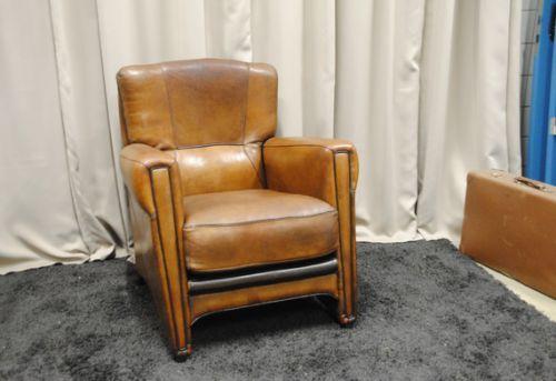 Schapenleren Mol en Geurts fauteuil.